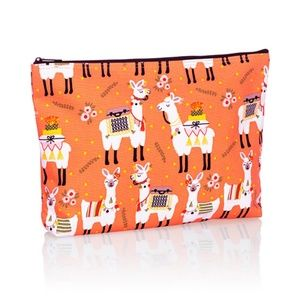 NWT   THIRTY-ONE   Llama Rama  ZIPPER  POUCH
